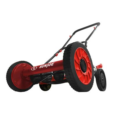 16 in. Manual Walk-Behind Reel Mower in Red (Factory Refurbished)