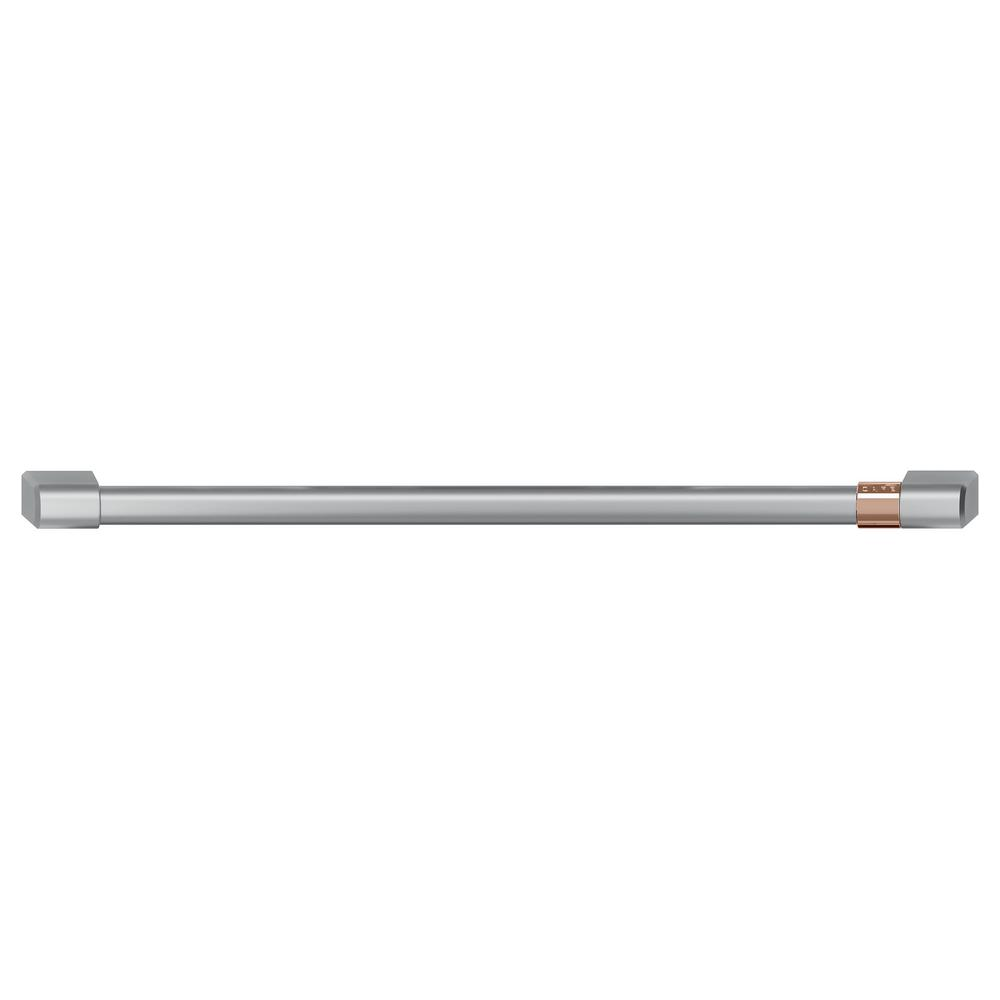 36 in. Gas Range Handle and Knob Kit in Brushed Stainless