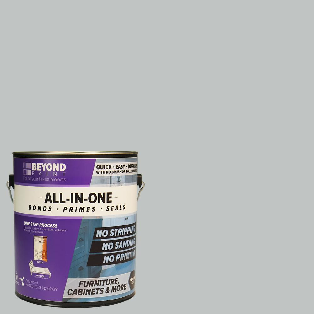 gray furniture paintBeyond Paint 1 gal Soft Gray Furniture Cabinets and More Multi