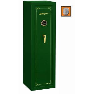 Stack-On 10-Gun Combination Lock Safe in Matte Hunter Green by Stack-On