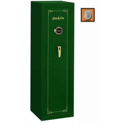 10-Gun Combination Lock Safe in Matte Hunter Green
