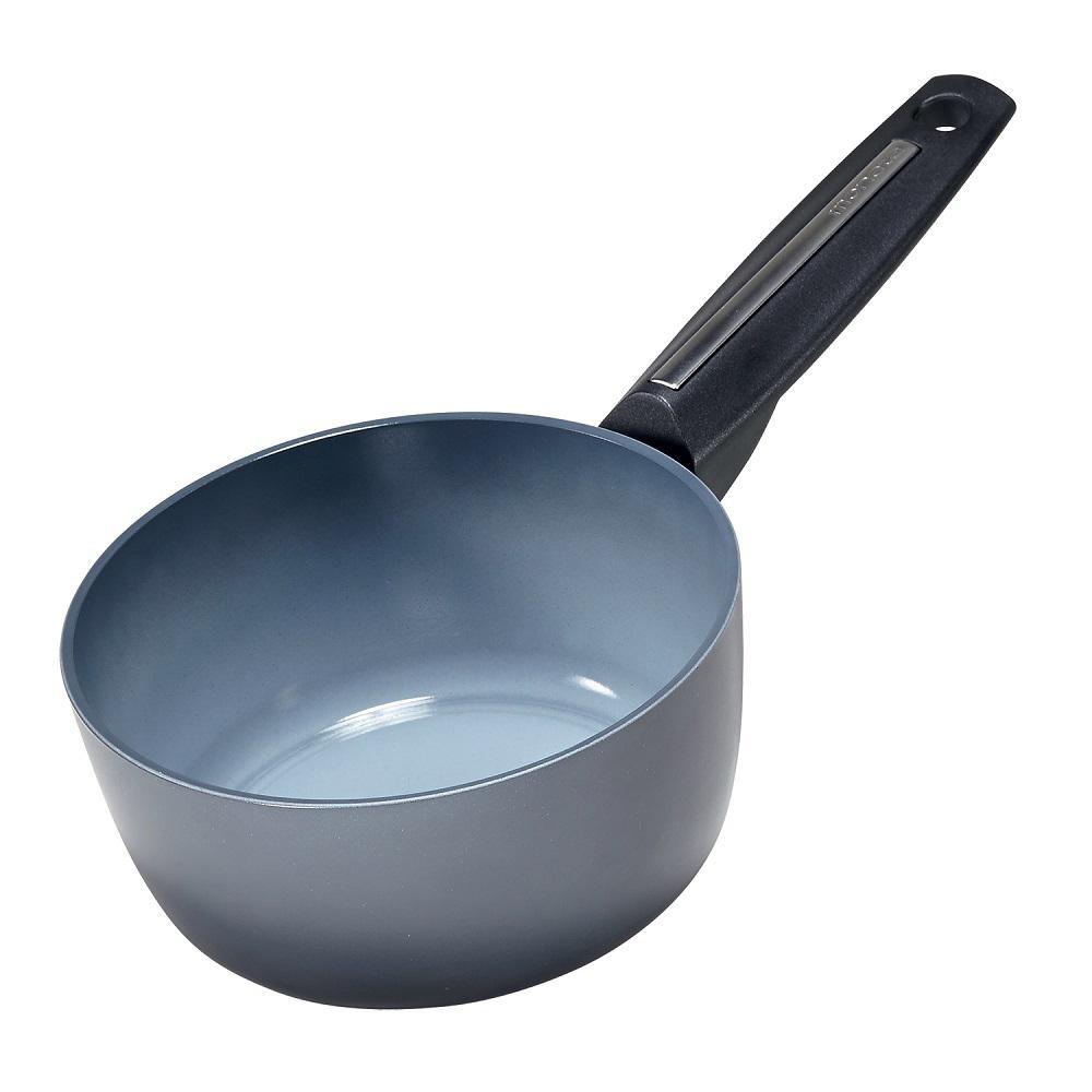 Azul Gres 1.5 qt. Cast Aluminum Nonstick Sauce Pot in Azul Gres