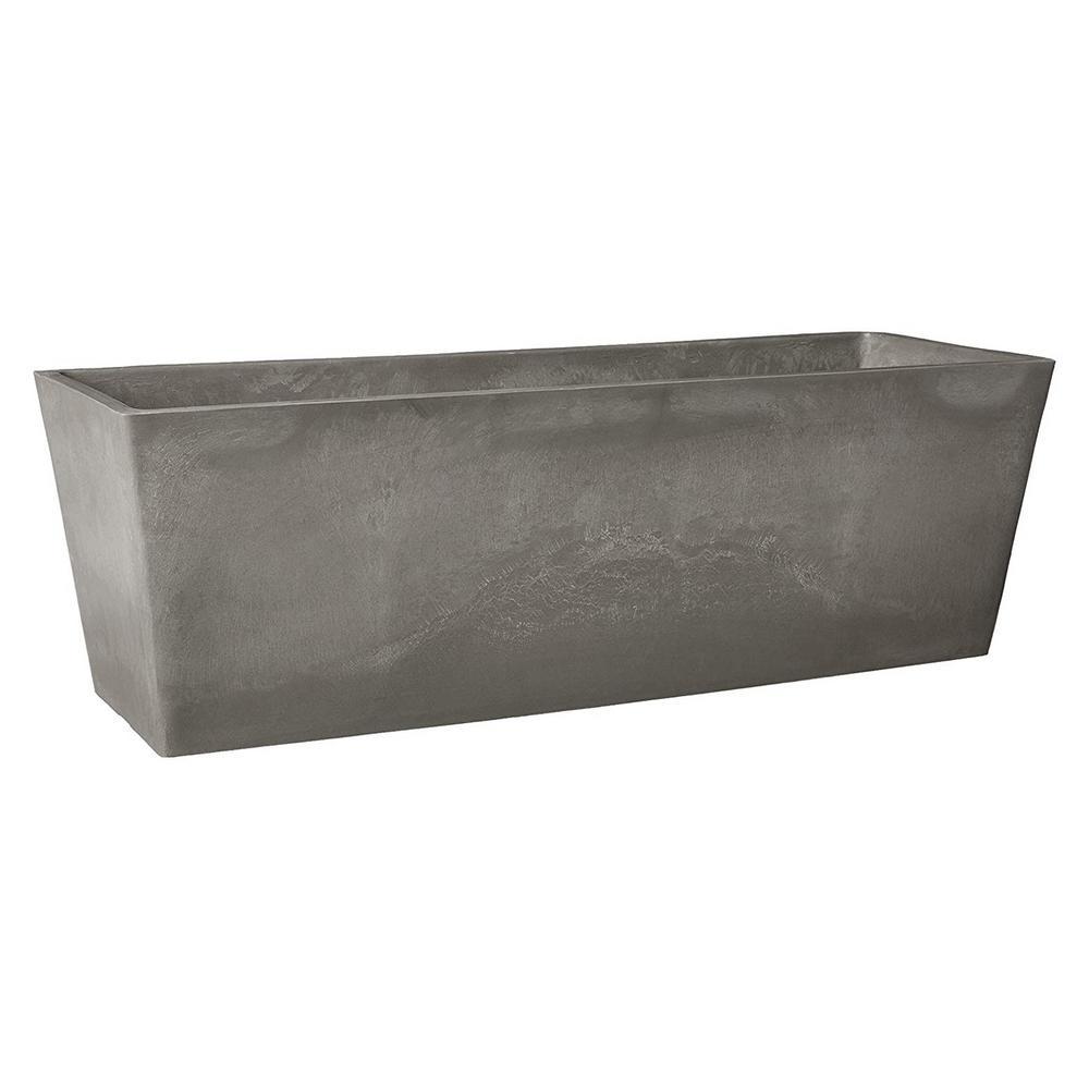 17.5 in. x 7 in. Cement Composite Window Box
