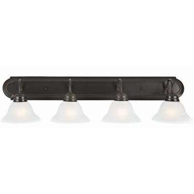 Millbridge 4-Light Oil Rubbed Bronze Vanity Light