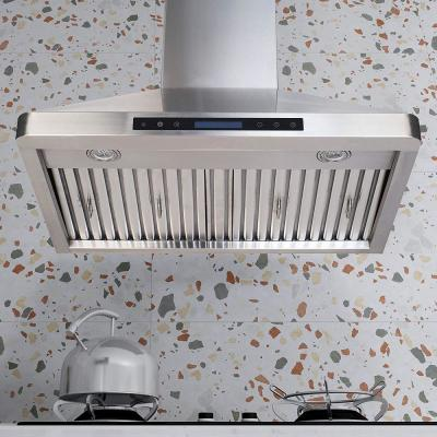 30 in. 600CFM Under the Cabinet Range Hood With Light in Stainless Steel