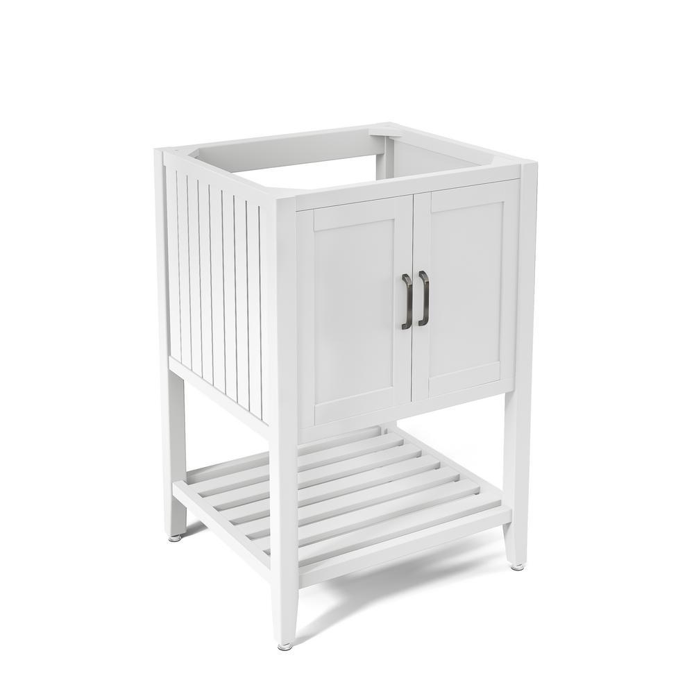 Bennett 23 in. W x 21 in. D Vanity Cabinet in White