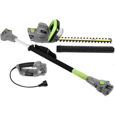 2 in 1 18 in. 4.5 Amp Electric Multi-Tool Pole/Hedge Trimmer