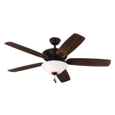 Colony Max Plus 52 in. Indoor/Outdoor Roman Bronze Ceiling Fan