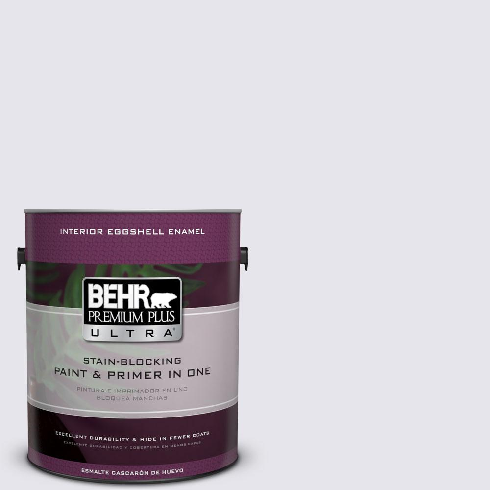 BEHR Premium Plus Ultra 1 gal. #PPU16-6 Lilac Mist Eggshell Enamel Interior Paint and Primer in One