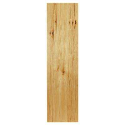 0.1875x42x11.25 in. Cabinet End Panel in Natural Hickory (2-Pack)