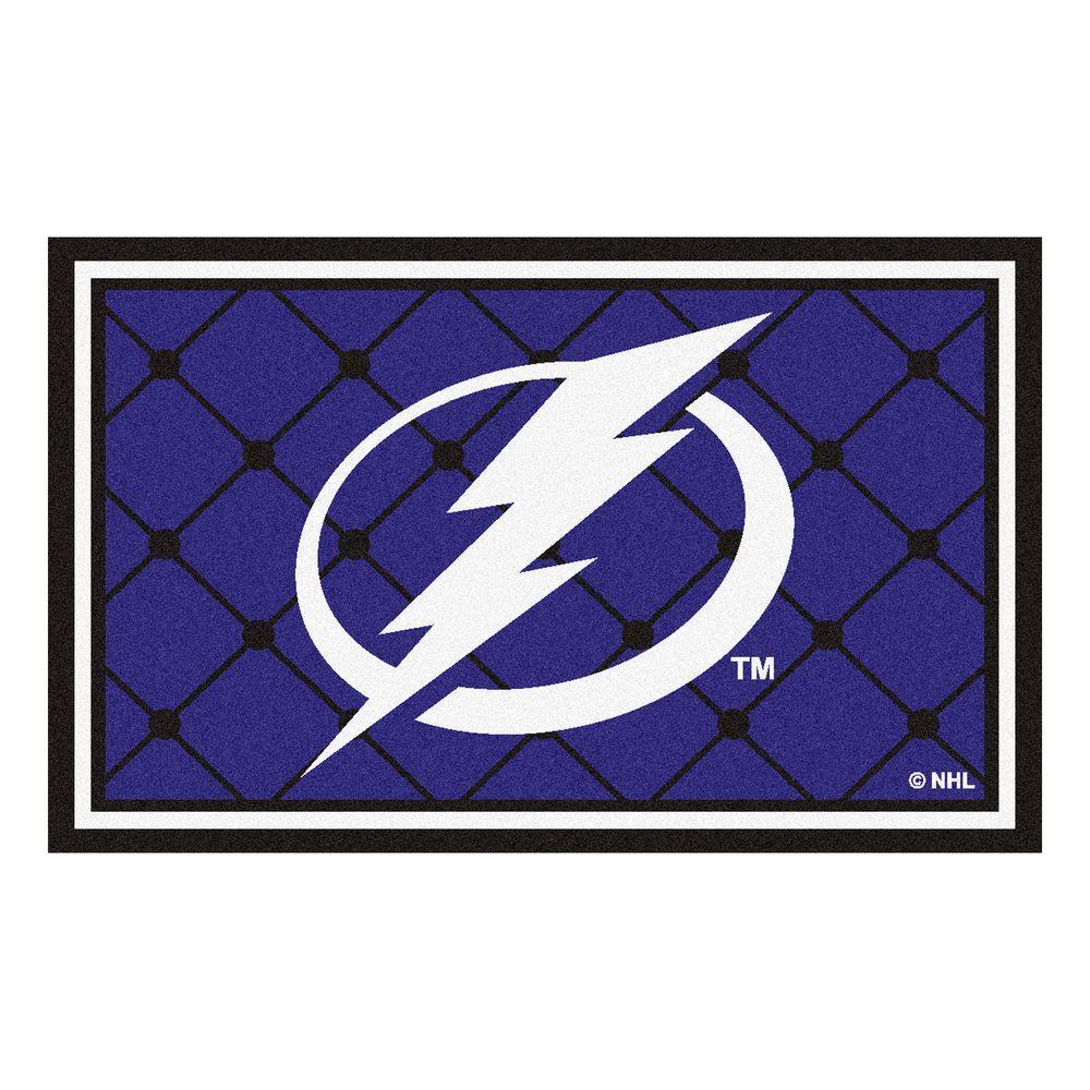 Tampa Bay Lightning 4 ft. x 6 ft. Area Rug