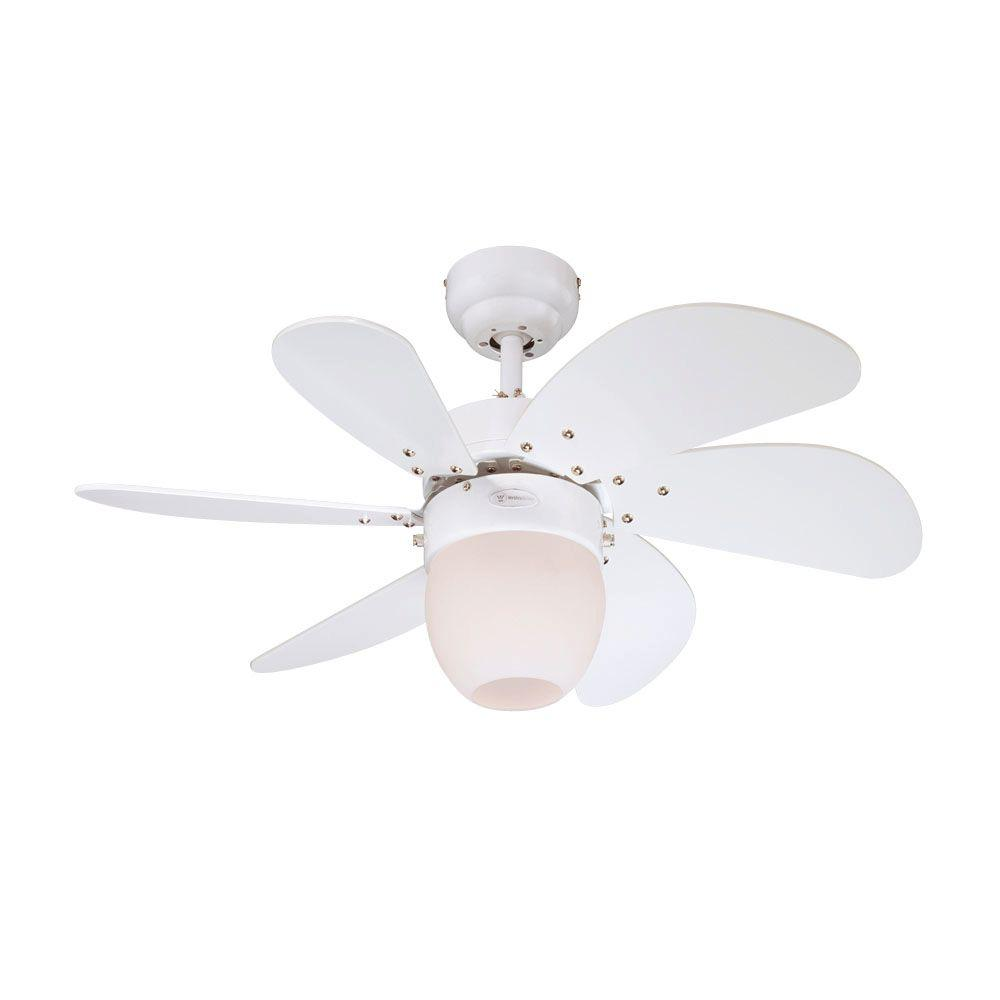 Westinghouse Turbo Swirl CFL 30 in. White Ceiling Fan-DISCONTINUED