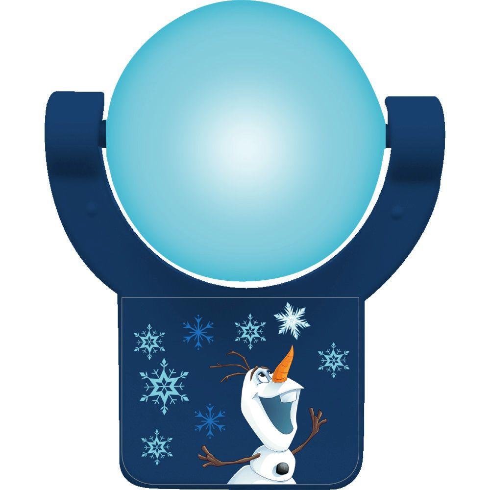 Disney Frozen Olaf Projectable LED Light Sensing Night Light