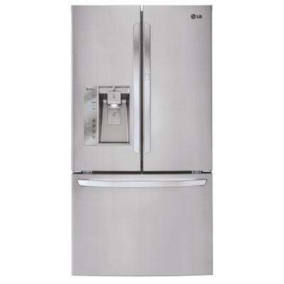 31.5 cu. ft. French Door Refrigerator with Door-in-Door in Stainless Steel