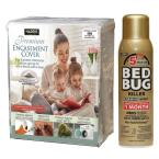 King Bed Bug Mattress Cover and Bed Bug Spray - Value Pack