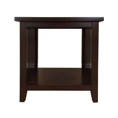 Brookdale Dark Walnut End Table