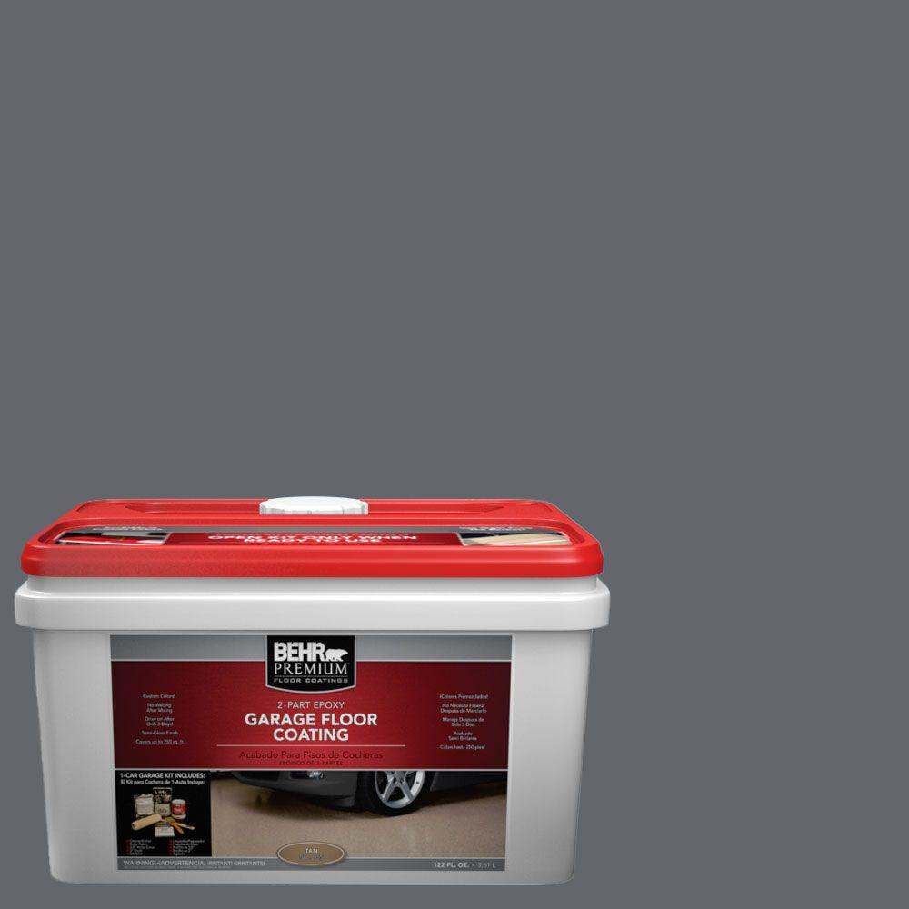 BEHR Premium 1-gal. #PFC-65 Flat Top 2-Part Epoxy Garage Floor Coating Kit