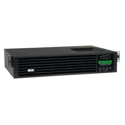 1.5kVA On-Line Double-Conversion UPS, 2U Rack/Tower, Interactive LCD display