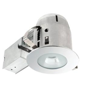 Globe Electric 4 inch Bathroom Chrome Recessed Lighting Kit with Clear Glass Spot Light by Globe Electric