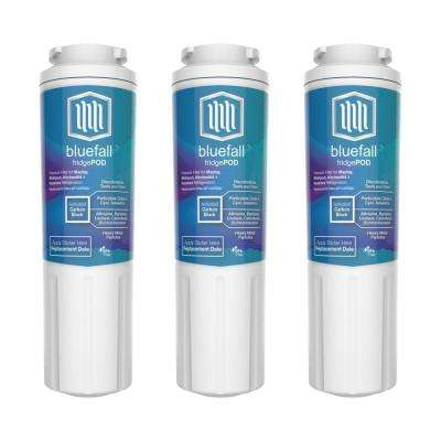 3 Compatible Refrigerator Water Filters Fits Maytag UKF8001 (Value Pack)