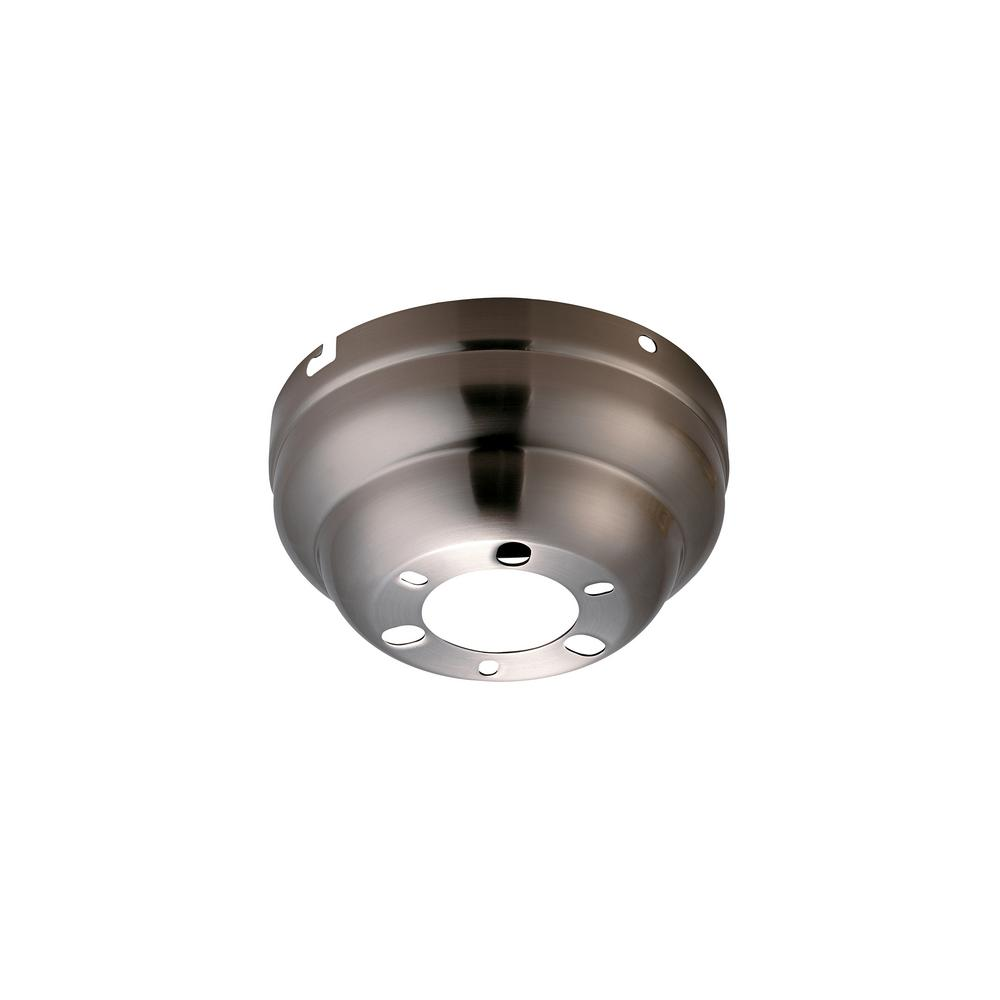 Brushed Steel Flush Mount Canopy