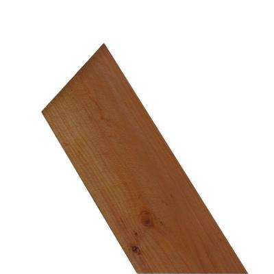 FSC ConHeart 11/16 in. x 7-1/2 in. x 8 ft. Redwood Flat Top Fence Picket