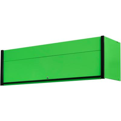 DX 72 in. 0-Drawer Extreme Power Workstation Hutch in Green with Black Handle