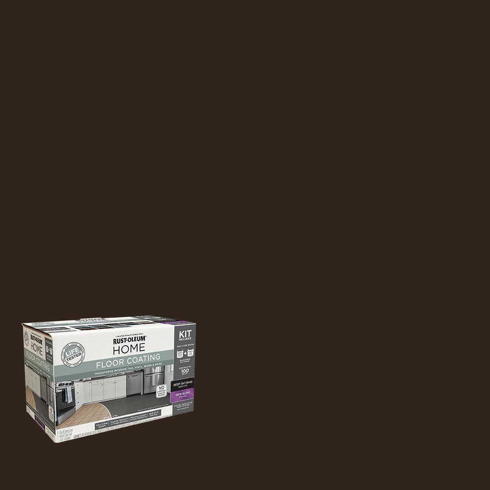1 qt. Kona Interior Floor Base Semi-Gloss Clear Coating Kit