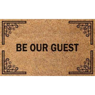 Vale Be Our Guest 18 in. x 30 in. Door Mat