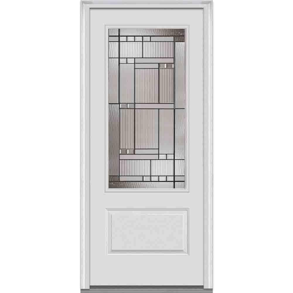 MMI Door 36 in. x 80 in. Kensington Right Hand 3/4 Lite  sc 1 st  Home Depot & MMI Door 36 in. x 80 in. Kensington Right Hand 3/4 Lite 1-Panel ...