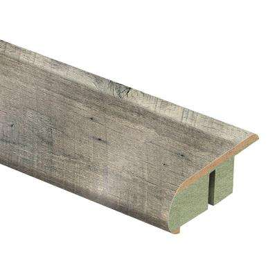 Cross Sawn Oak Grey 3/4 in. Thick x 2-1/8 in. Wide x 94 in. Length Laminate Stair Nose Molding