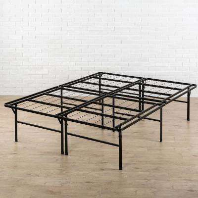 High Profile SmartBase Queen Metal Bed Frame