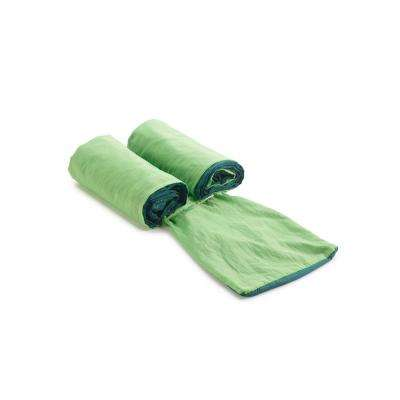 6-1/2 ft. Nylon Bag Hammock in 2-Tone Green