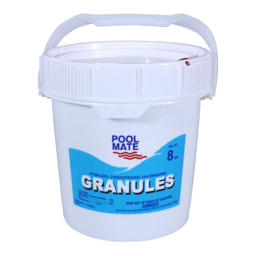 8 lb. Pool Concentrated Chlorinating Granules