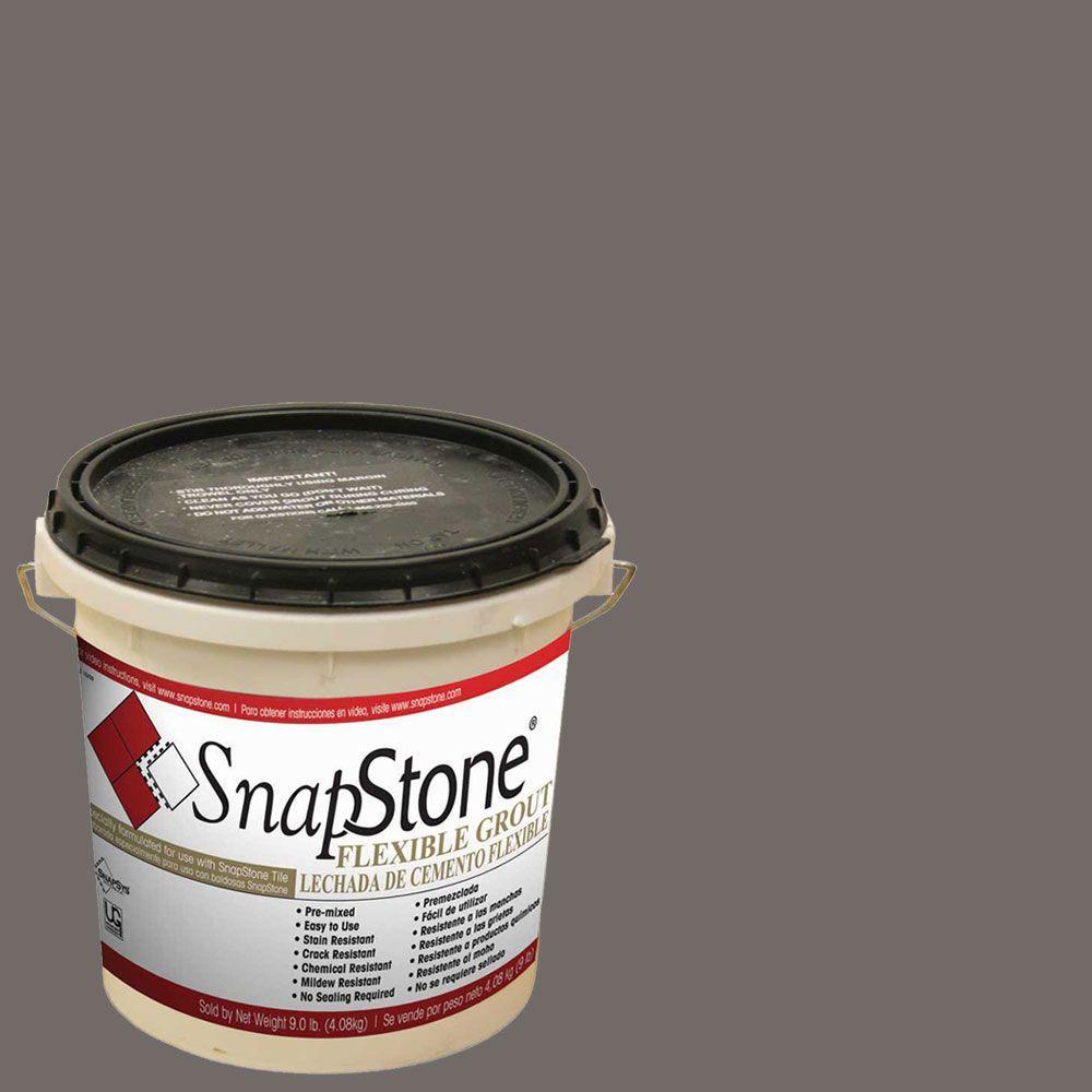 Snapstone Charcoal Grey 9 Lb Urethane Flexible Grout 11