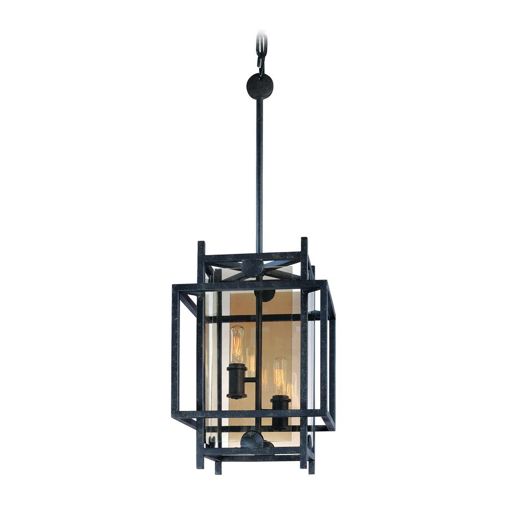 crosby collection large pendant light. Crosby 2-Light French Iron Pendant Collection Large Light T