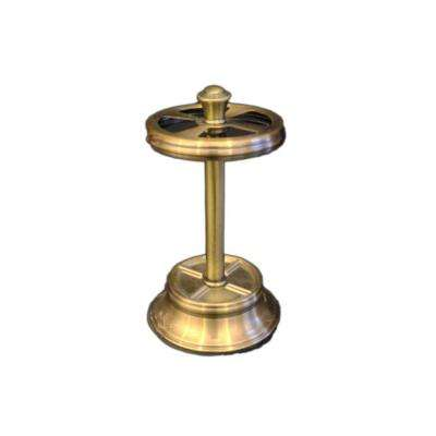 Antique Brass Collection 5 in. Toothbrush Holder in Brushed Brass