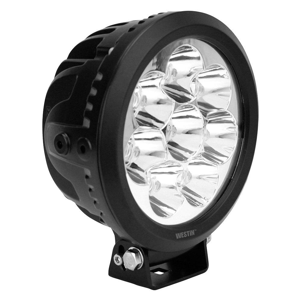Ultra LED Auxiliary Light 6.5 inch Spot w/10W Cree - Black
