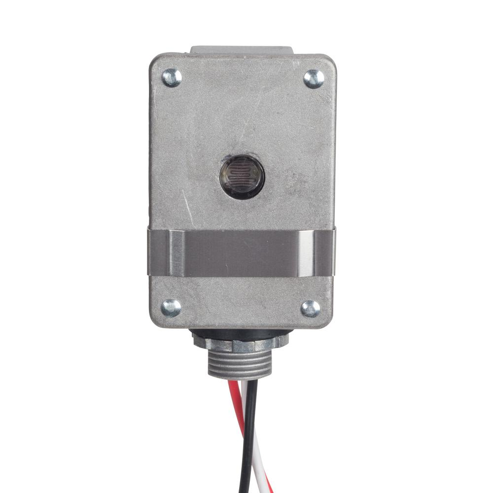 Tork 208 277 Volt Die Cast Aluminum Photo Control 2116 The Home Depot Photoelectric Switch Wiring Diagram