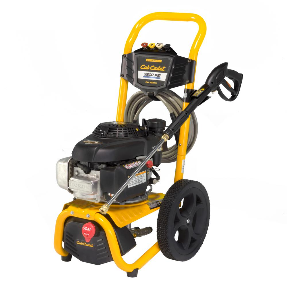 Cub Cadet 3200 Psi 2 4 Gpm Gas Pressure Washer Ed By Honda Gcv190