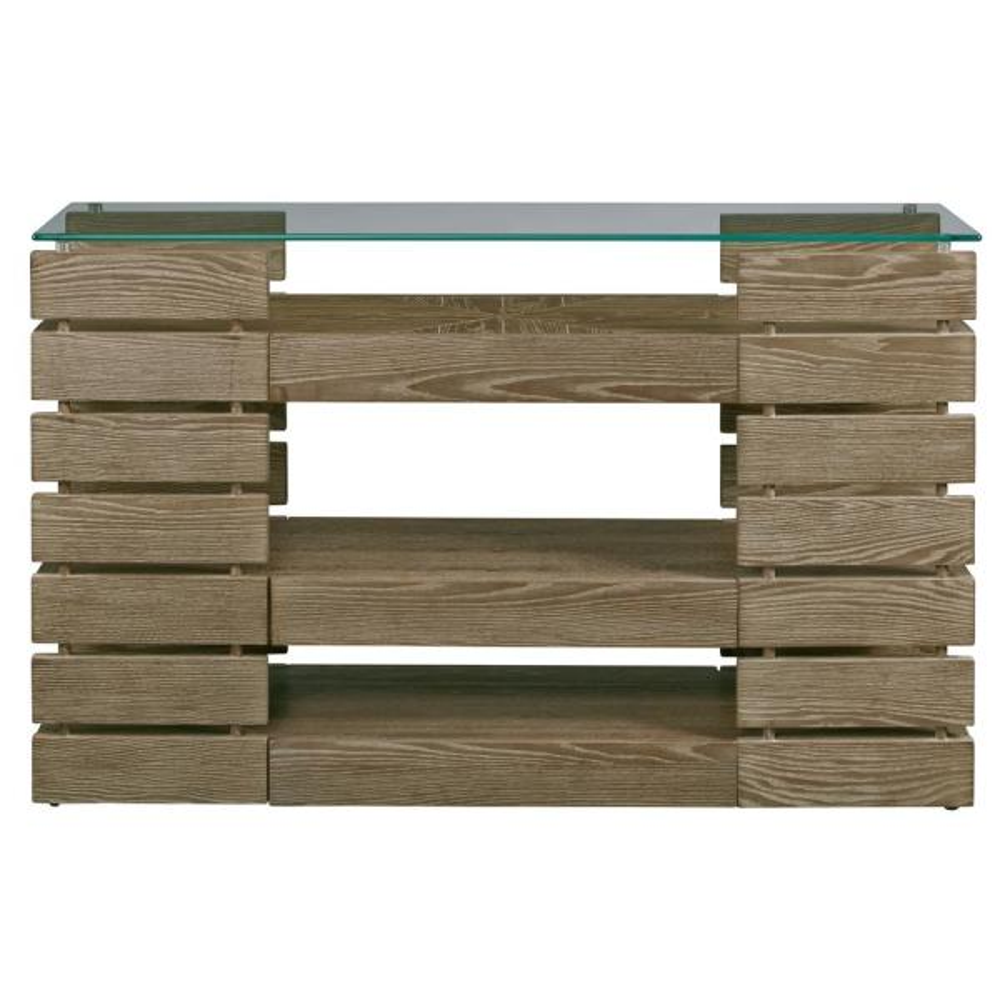 Progressive Furniture Harvey Park Spicy Elm Sofa/Console Table T484-05