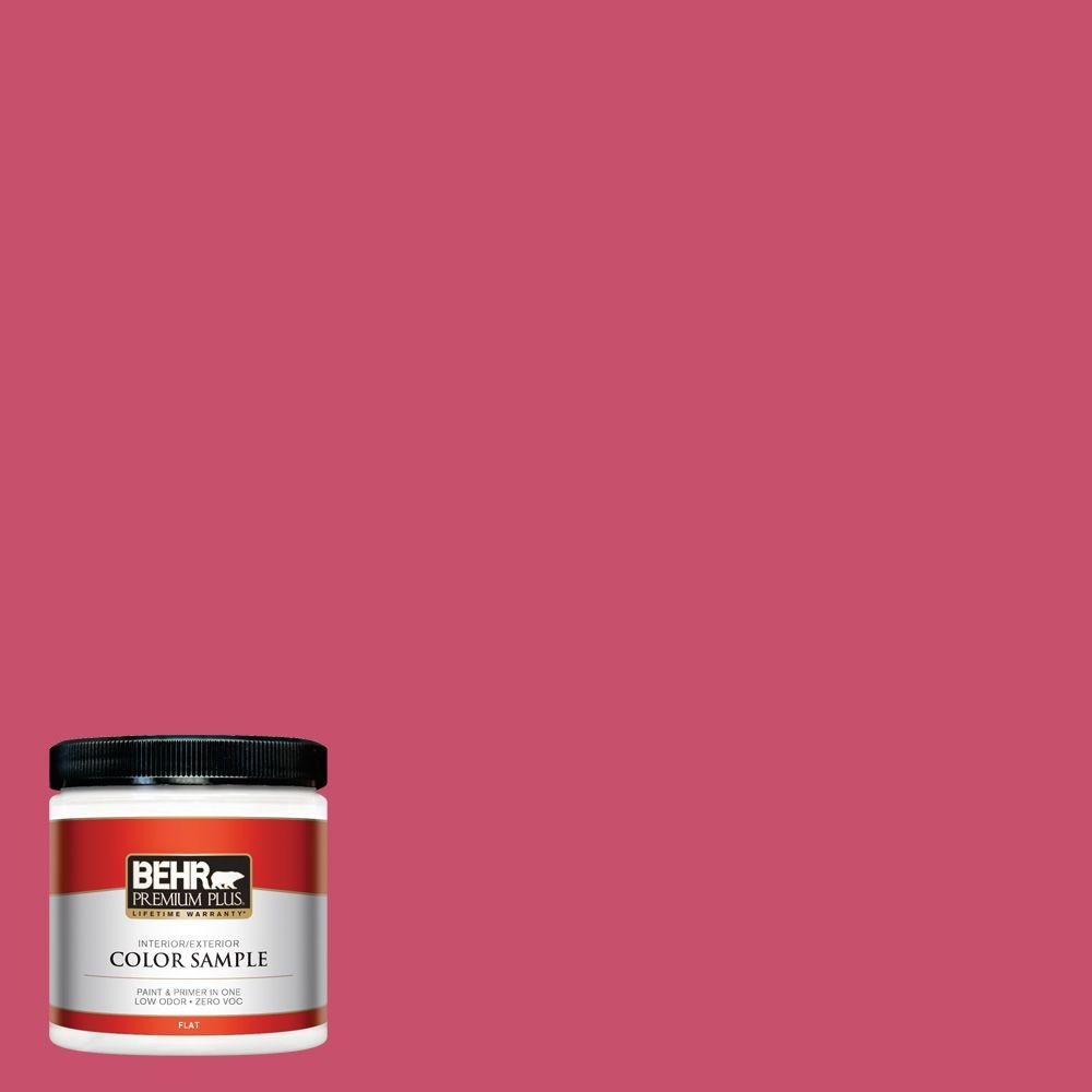BEHR Premium Plus 8 oz. #120B-7 Tropical Smoothie Interior/Exterior Paint Sample