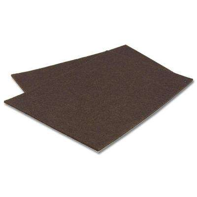 5-31/32 in. Self-adhesive Felt Pads (2-Pack)