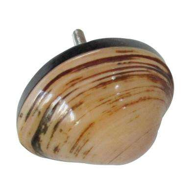 Shell 1-3/4 in. (45mm) Antique Peach Cabinet Knob