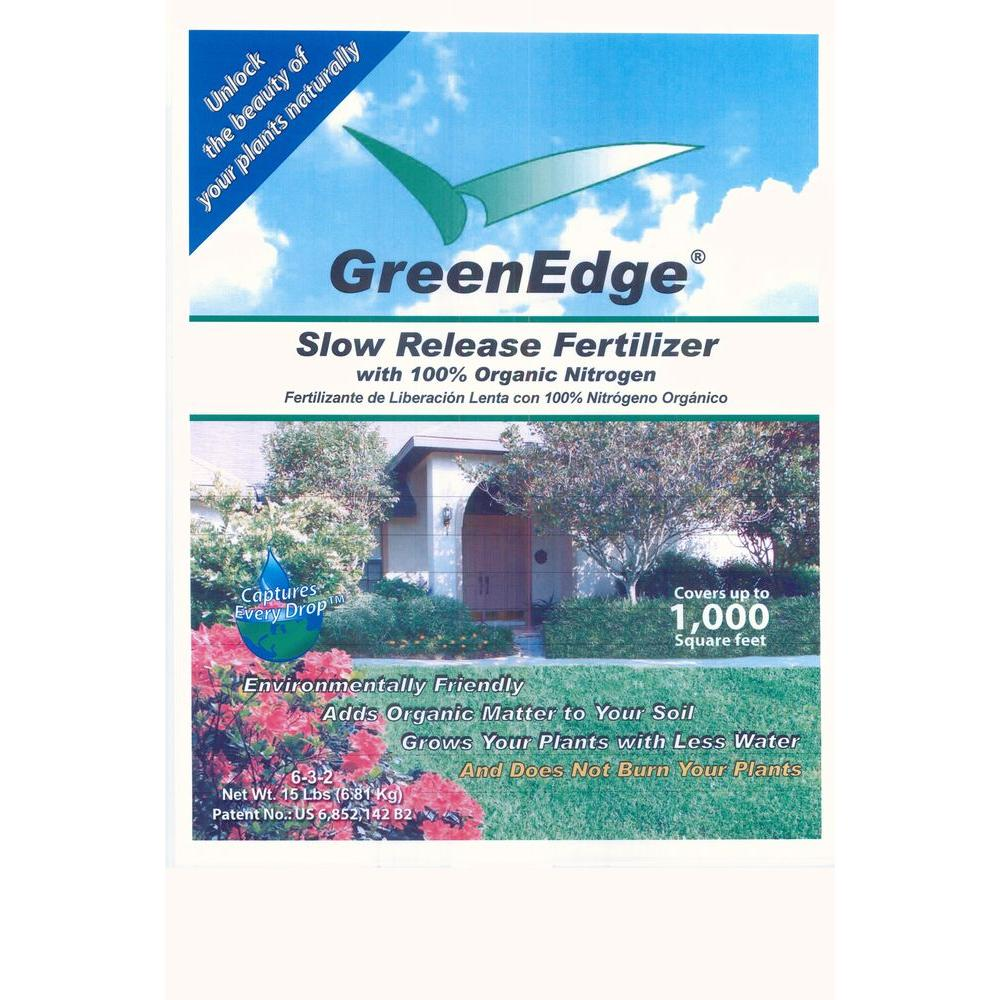 15 lb. 6-3-2 Slow Release Organic Fertilizer - Garden Fertilizer covers