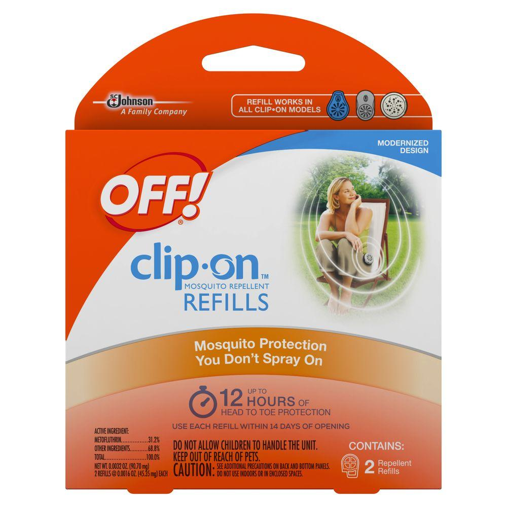 OFF! Clip-On Mosquito Repellent Refills (2-Pack)