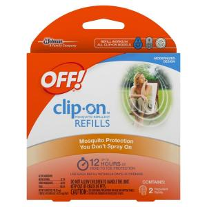 Clip On Mosquito Repellent Refills (2 Pack). OFF!