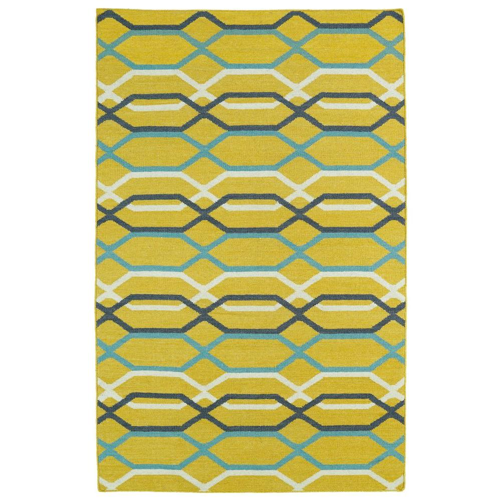 Glam Yellow 3 ft. 6 in. x 5 ft. 6 in.
