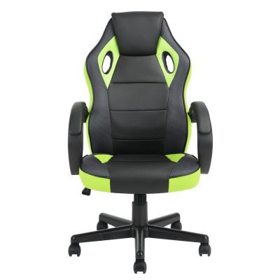 Tunney Green PU Racing Gaming Chair