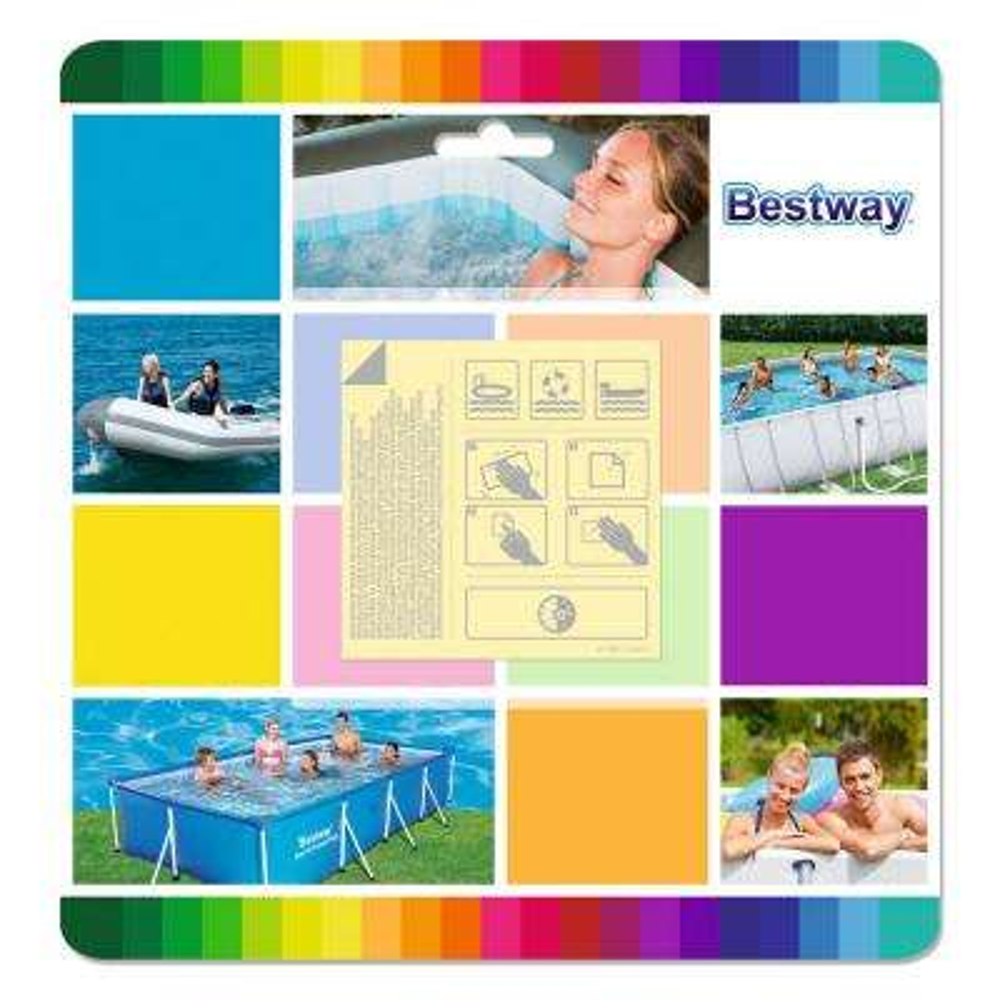 Flowclear 2.5 in. x 2.5 in. Underwater Adhesive Pool Repair Patches